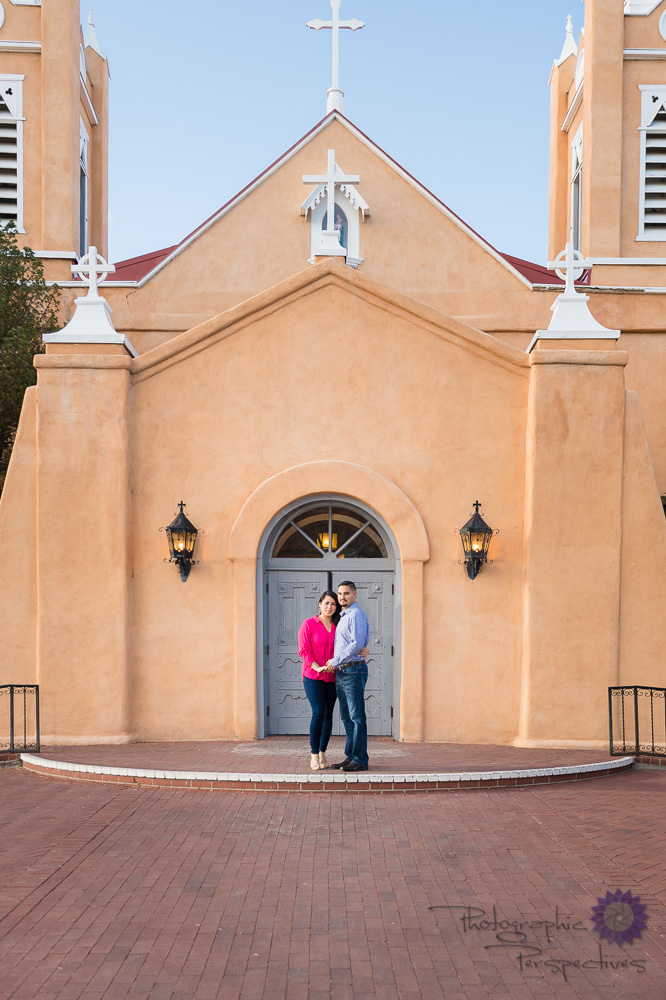 Photographic Perspectives | Albuquerque Old Town Engagement | Engagement Photography Albuquerque