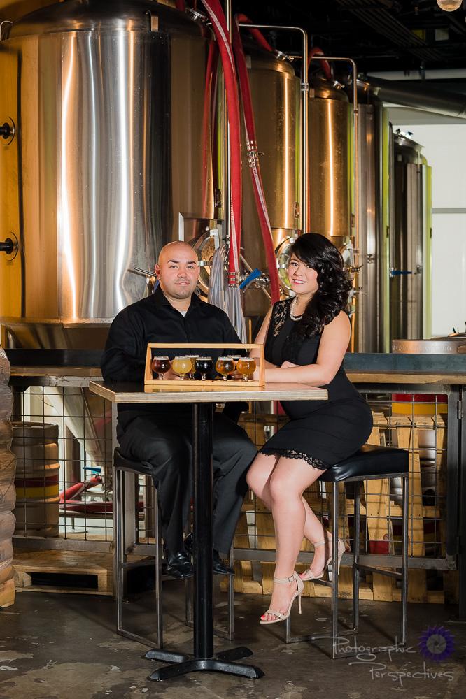 Ponderosa Brewing Company | Photographic Perspectives | Engagement Photographers Albuquerque