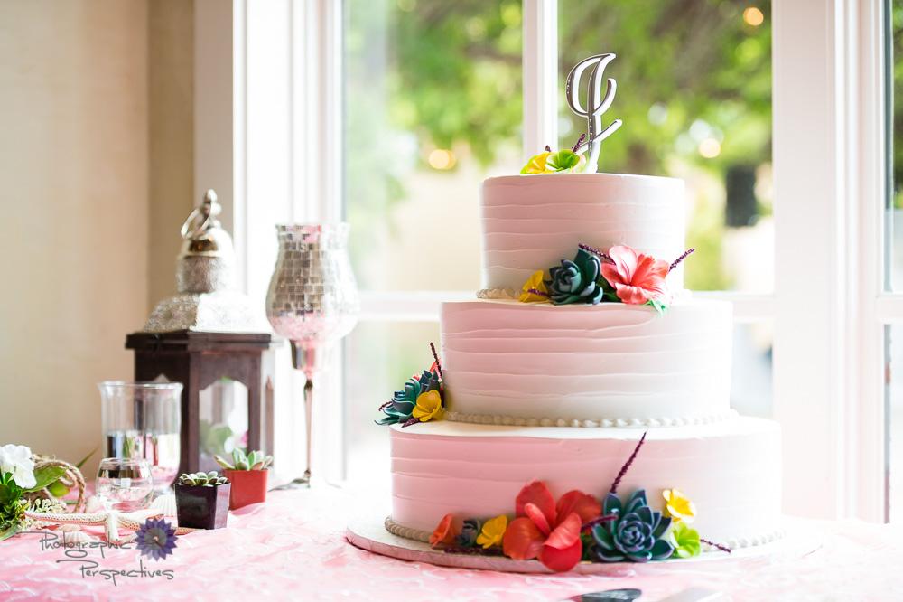 Hotel ABQ Wedding Cake, 3-tier