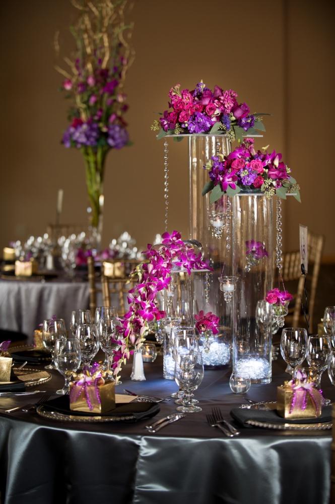 Wedding Reception Table Decor, photography Albuquerque