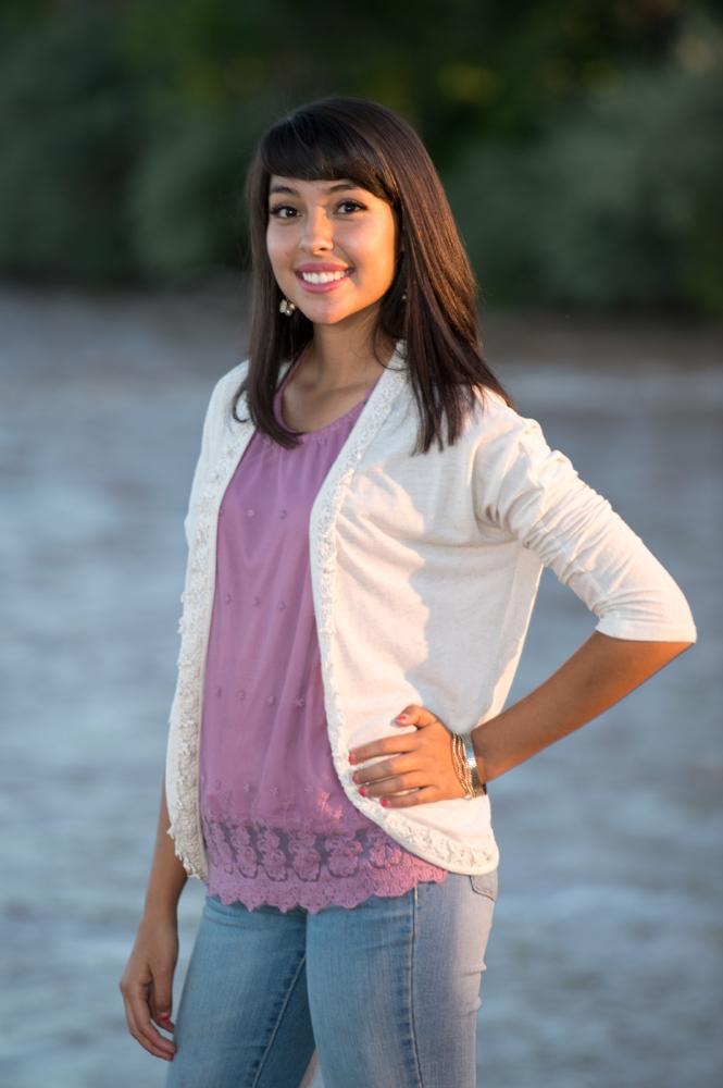 Senior Photo at the Rio Grande River