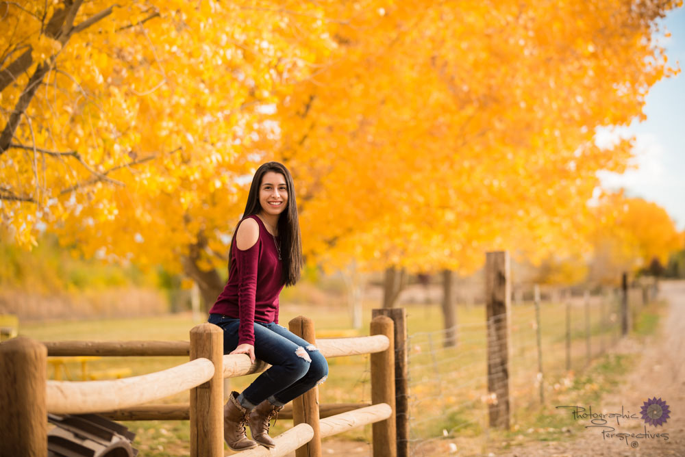 Photographic Perspectives | Albuquerque Photographers| Senior Portraits | Corrales New Mexico | New Mexico Photographers | Fall Senior Portrait Session