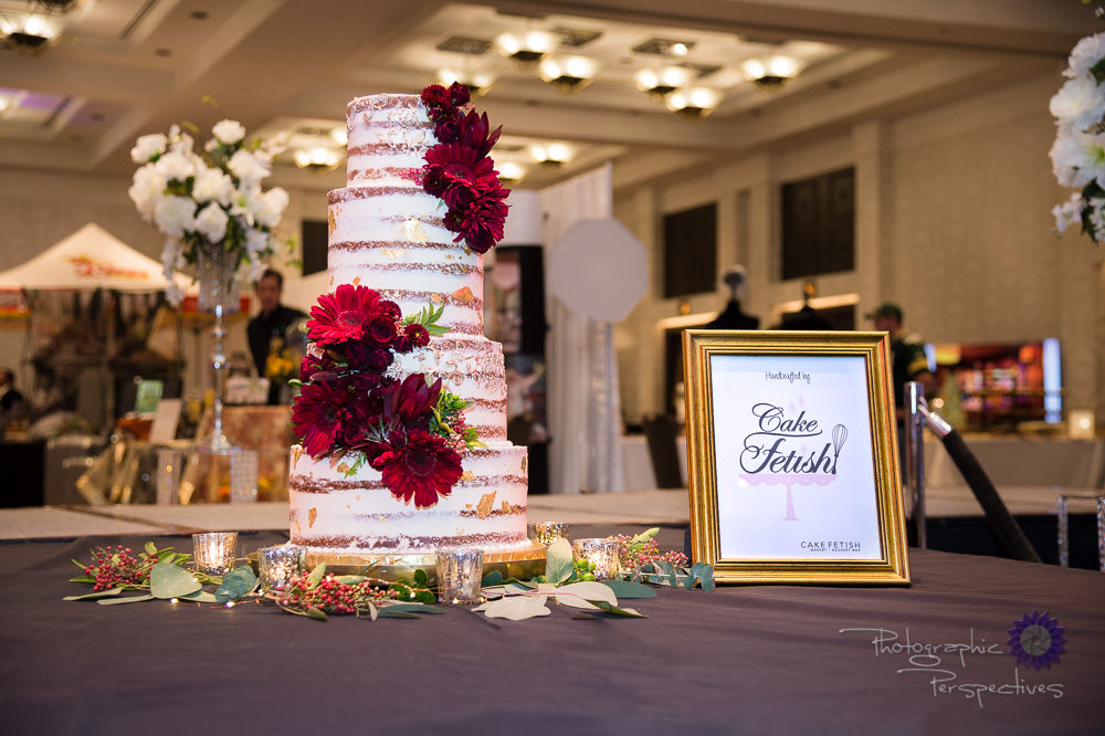 Perfect Wedding Guide | Diamond Dash | Wedding Show 2017 | Cake Fetish Bakery | Photographic Perspectives | Event Photography | Cake Smash