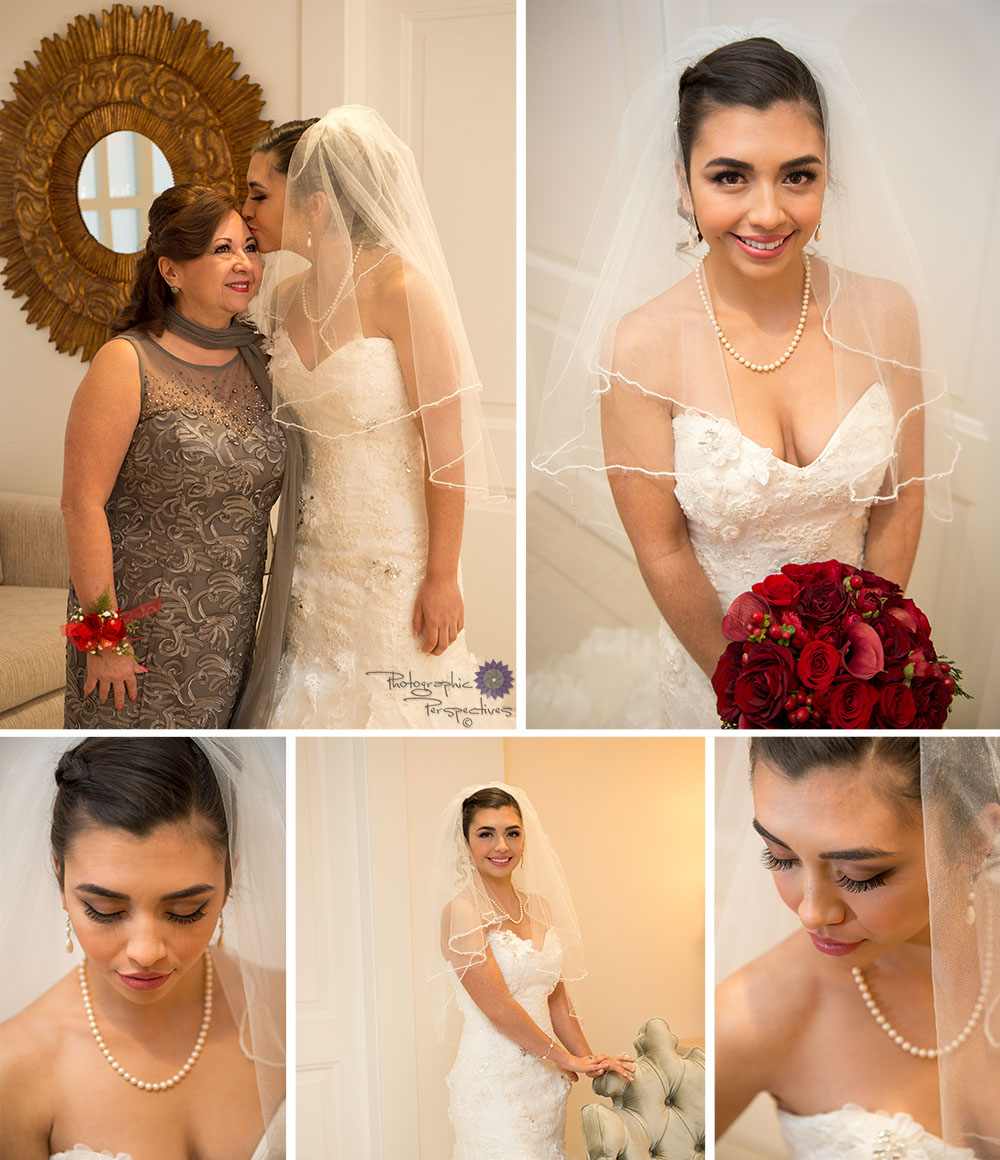 We love taking bridal portraits that include someone special to the bride, like Desire's mom.