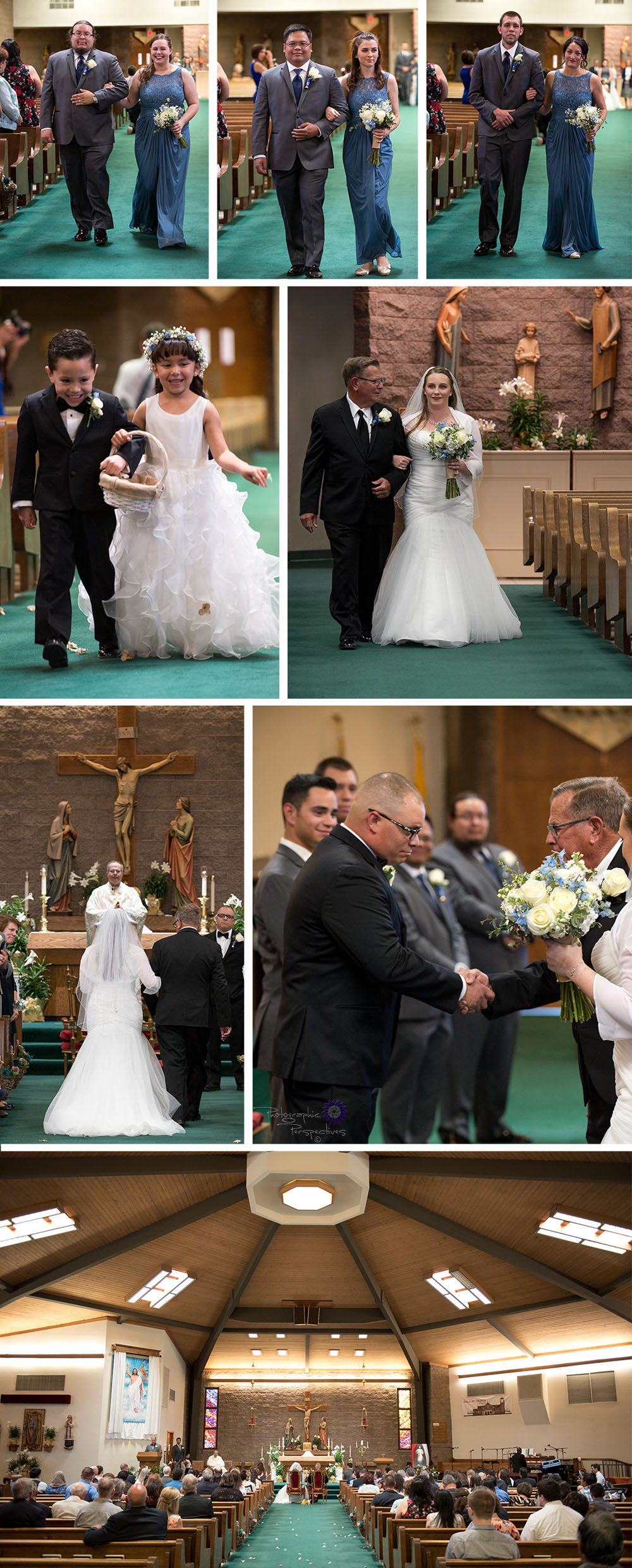 St. Thomas Aquinas Catholic Church | Albuquerque Wedding Photographers | Photographic Perspectives