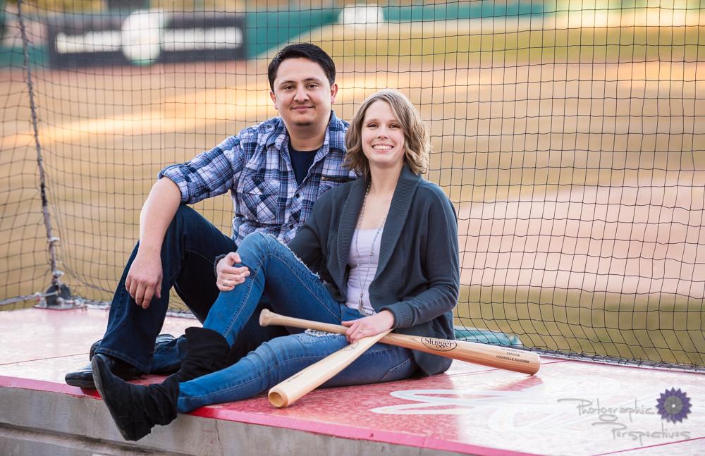 Baseball Engagement Session | Albuquerque Engagement Photographers