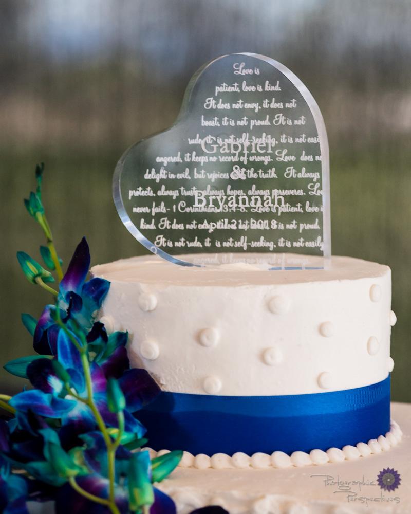 custom wedding cake toppper