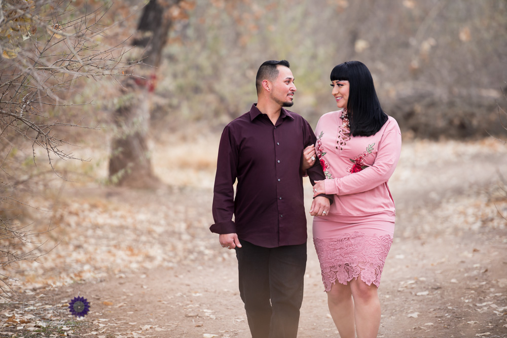 New Mexico Winter Engagement Photos