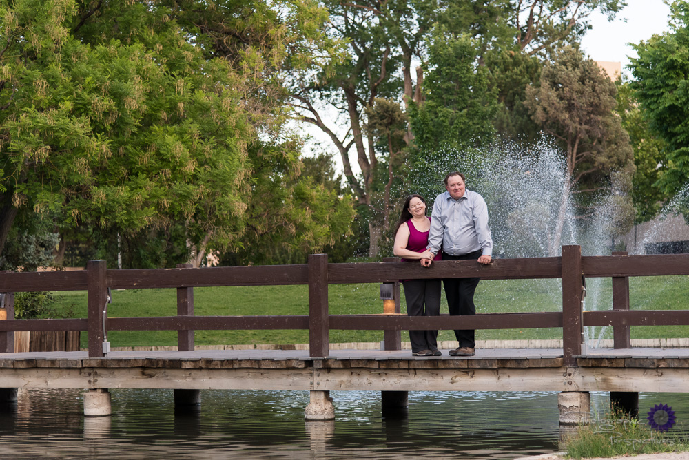 University of New Mexico Duck Pond Engagement Session