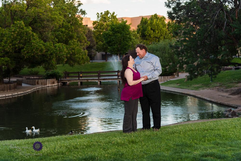 Dusk Engagement Photos