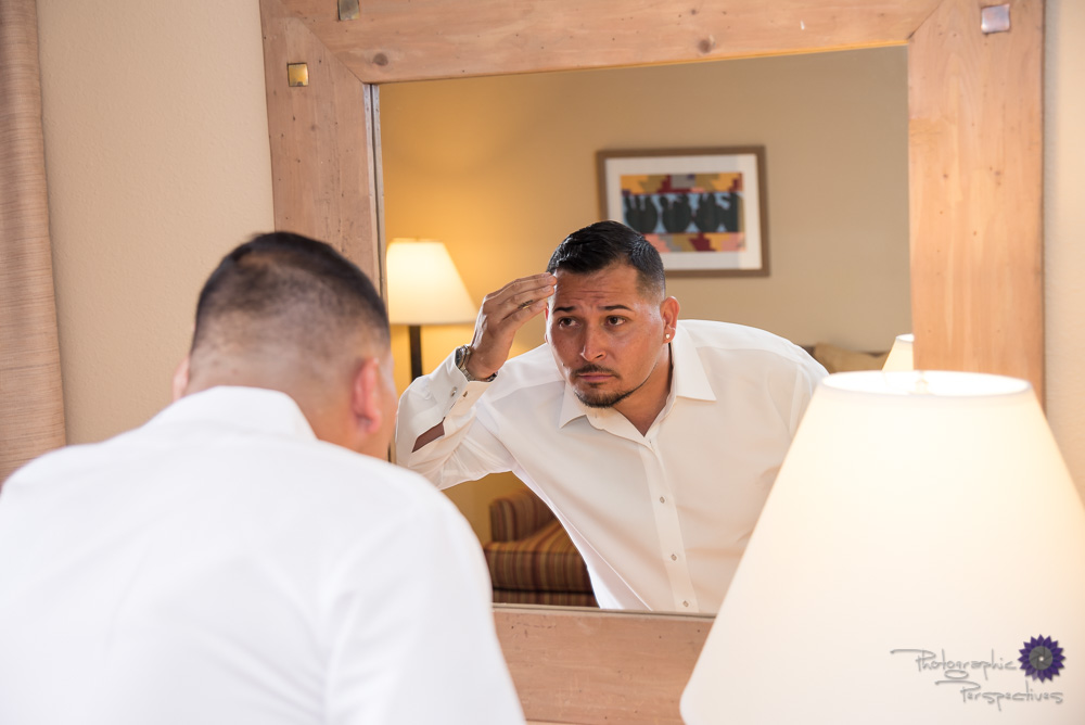 Groom Prep | Photographic Perspectives | Albuquerque Wedding Photography