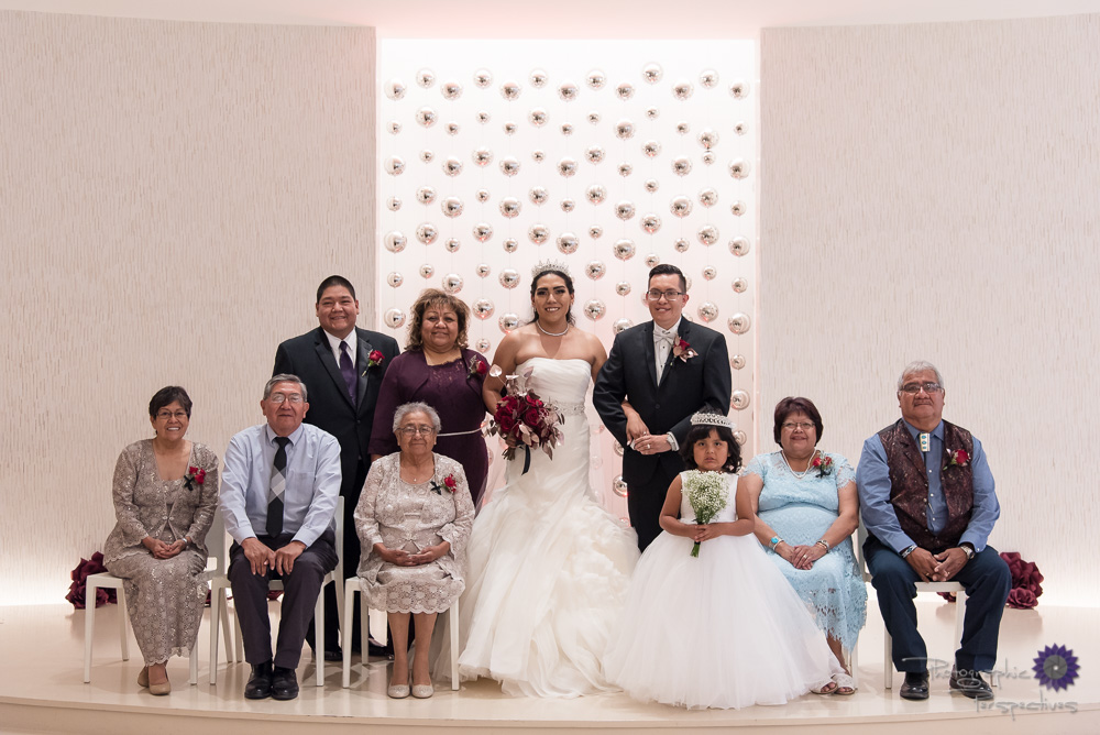 Albuquerque Hyatt Wedding Group Formals