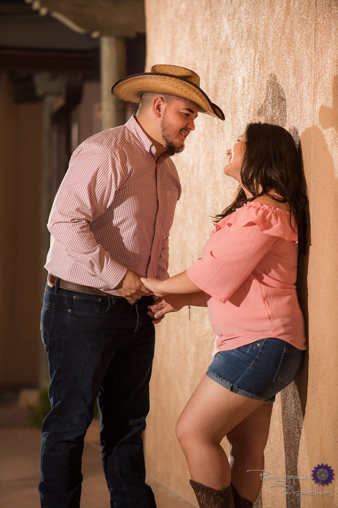 Old Town Albuquerque Engagement