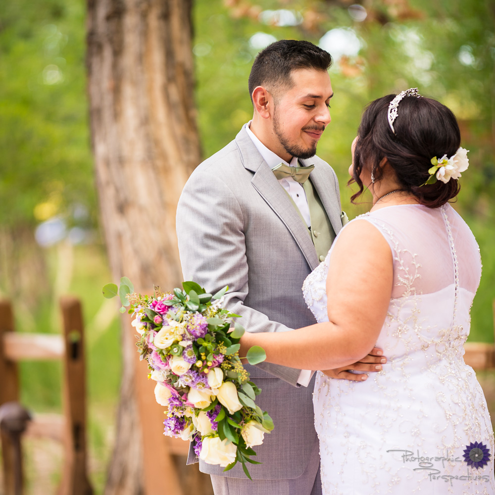 Hyatt Regency Tamaya Wedding | First Look