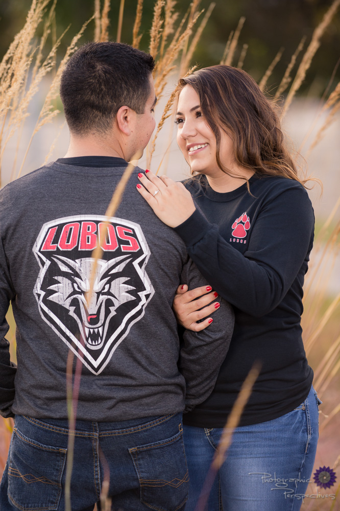 UNM Lobo Engagement Photos