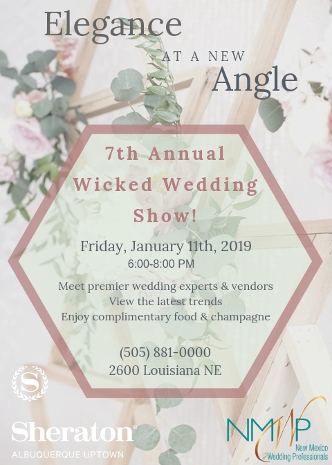 2019 Wicked Wedding Show Flyer