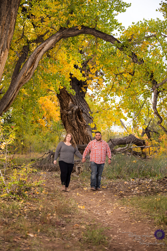 New Mexico Engagement Session | Rio Grande Bosque