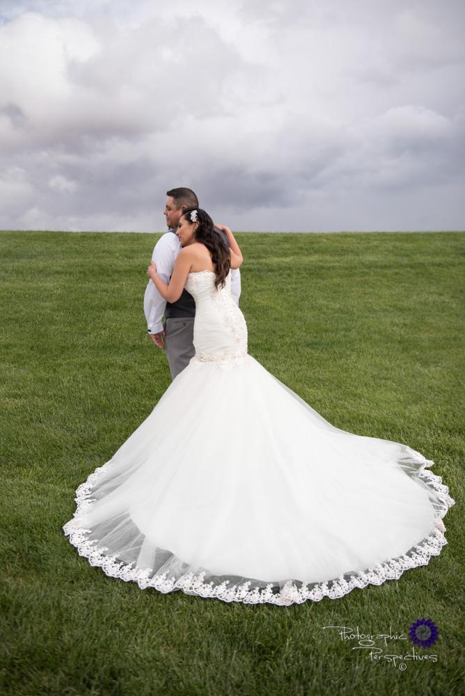 Albuquerque Wedding Photographer | Isleta Resort and Casino | Bridal Portrait on Golf Course.jpg