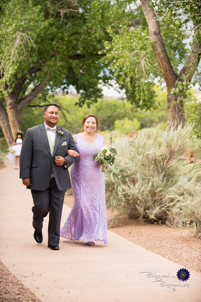Hyatt Regency Tamaya Wedding | New Mexico Wedding Photographer | Procession