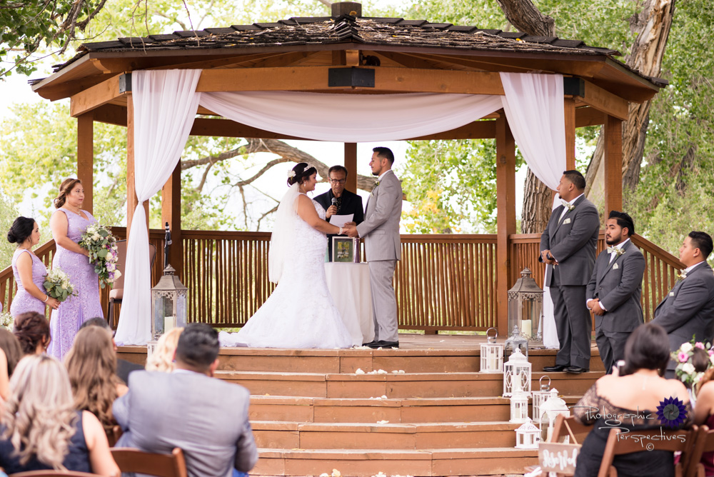 Best Wedding Photographers Albuquerque | Hyatt Regency Tamaya Wedding  | Gazebo