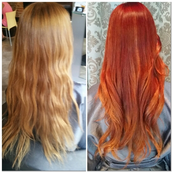 Flame Red Hair