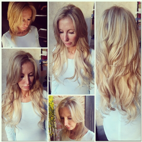 Hair Extension Makeover