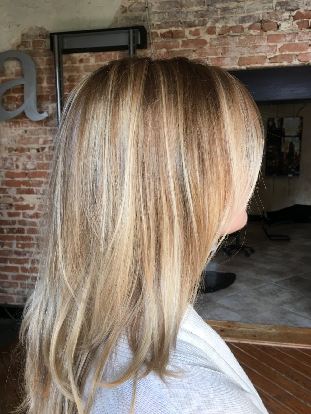 Baby lights and Balayage