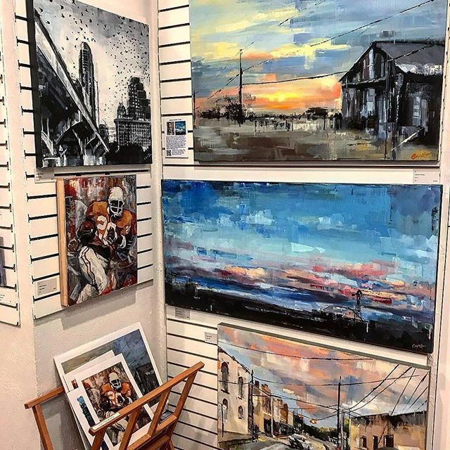 Looking for summer vacation ideas? Spend the weekend in Wimberley, and while you're there go by and check out the Art on 12 gallery. Great gallery with some amazing art, and I have my own little corner with originals and prints.