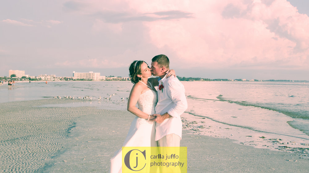 A Siesta Key wedding for   Shelly and Mat