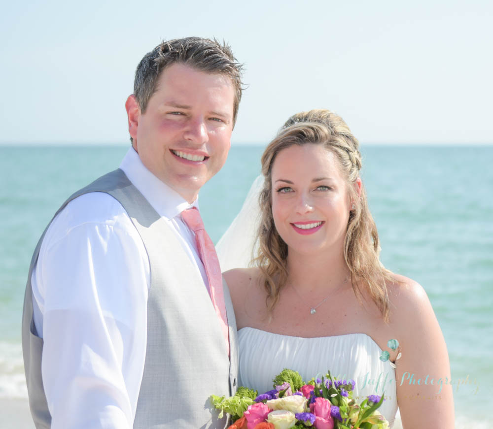 Casey Key Beach Wedding in Nokomis, Florida
