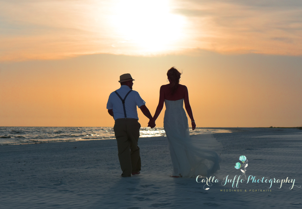 Beach Weddings in Siesta Key - Carlla Juffo Photography