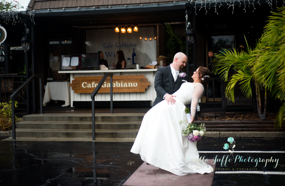 Rohsana and Jose's wedding hosted at Cafe Gabbiano on Siesta Key Village