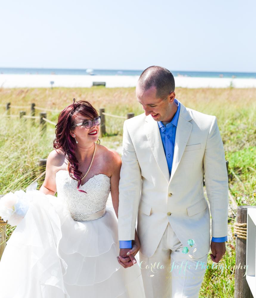 Beach Weddings in Siesta Key - Carlla Juffo Photography