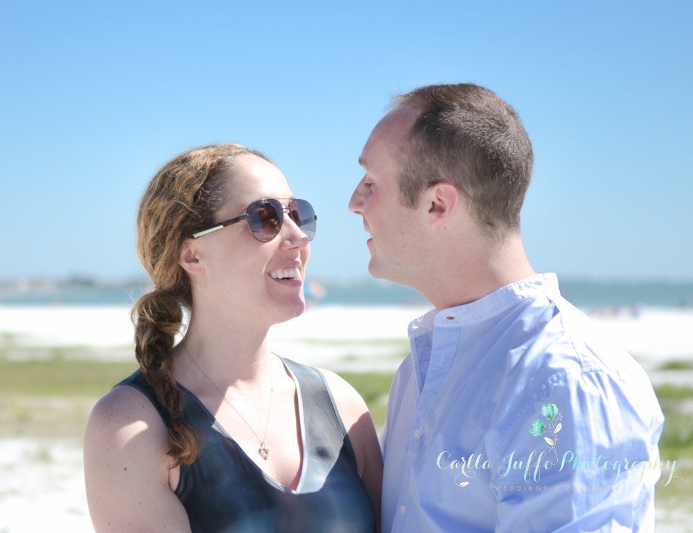 Surprise Proposal on Siesta Key Beach
