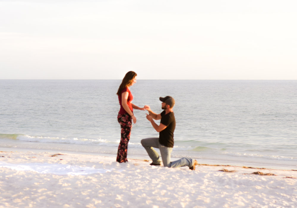 Holmes Beach surprise proposal