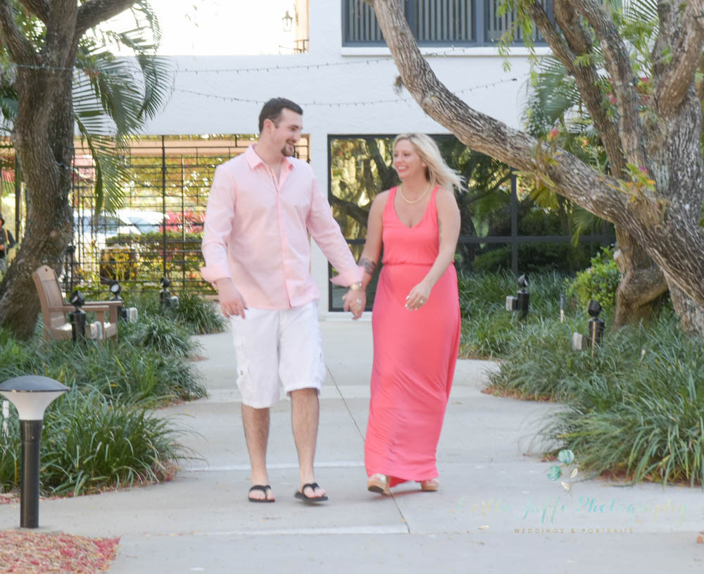 Siesta key Engagement Portraits