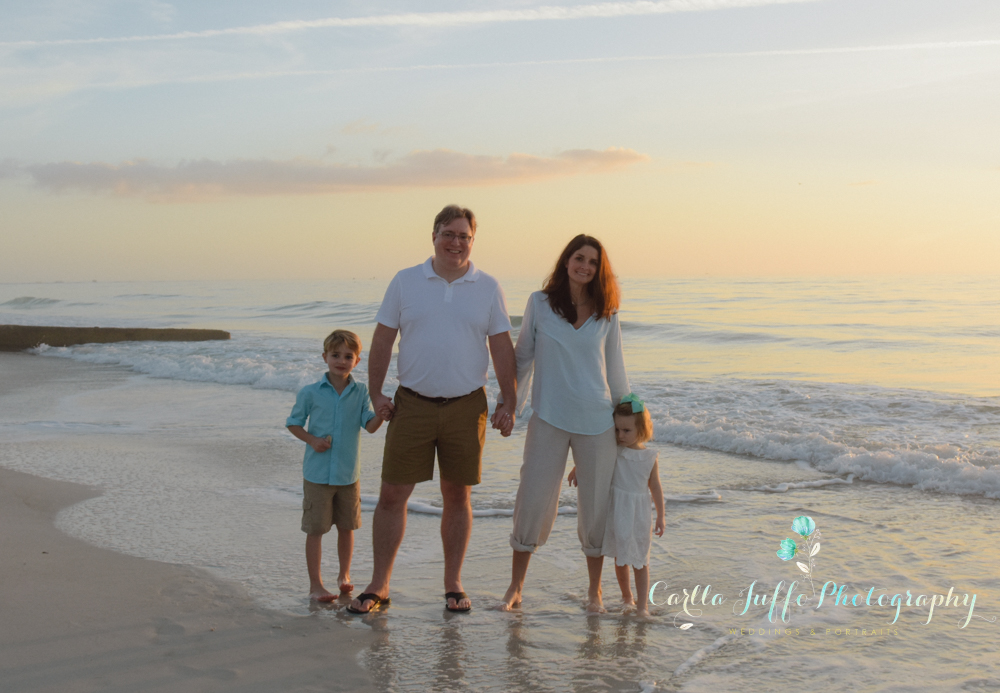 Coquina Beach Family Portraits
