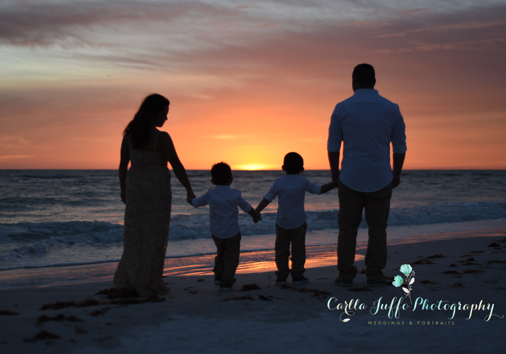 Siesta Key Family Vacation Pictures