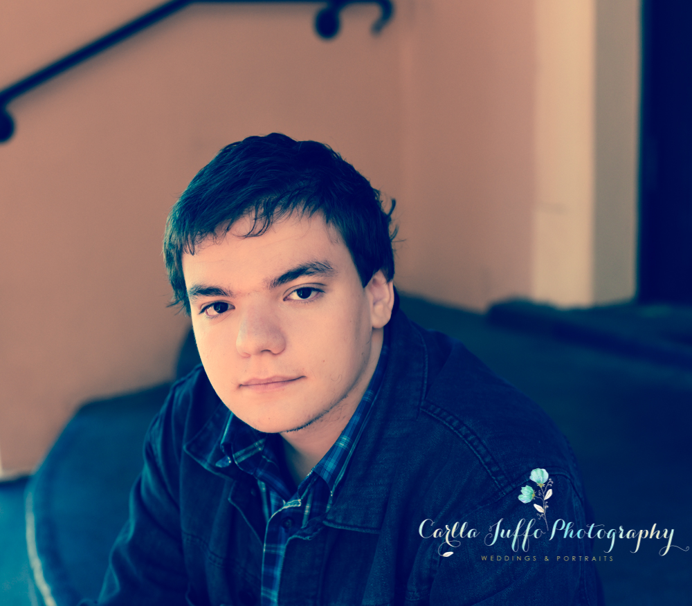 Unique and creative High School Senior Portraits by Carlla Juffo Photography