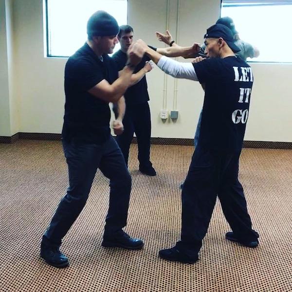 Yuan working with Matt Damon on  Jason Bourne  by Matt Biamonte (2016)