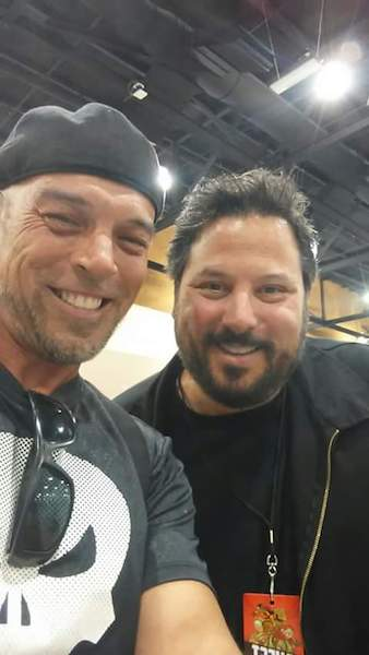Dean and Greg Grunberg at the Phoenix Comic Fest, interview out soon
