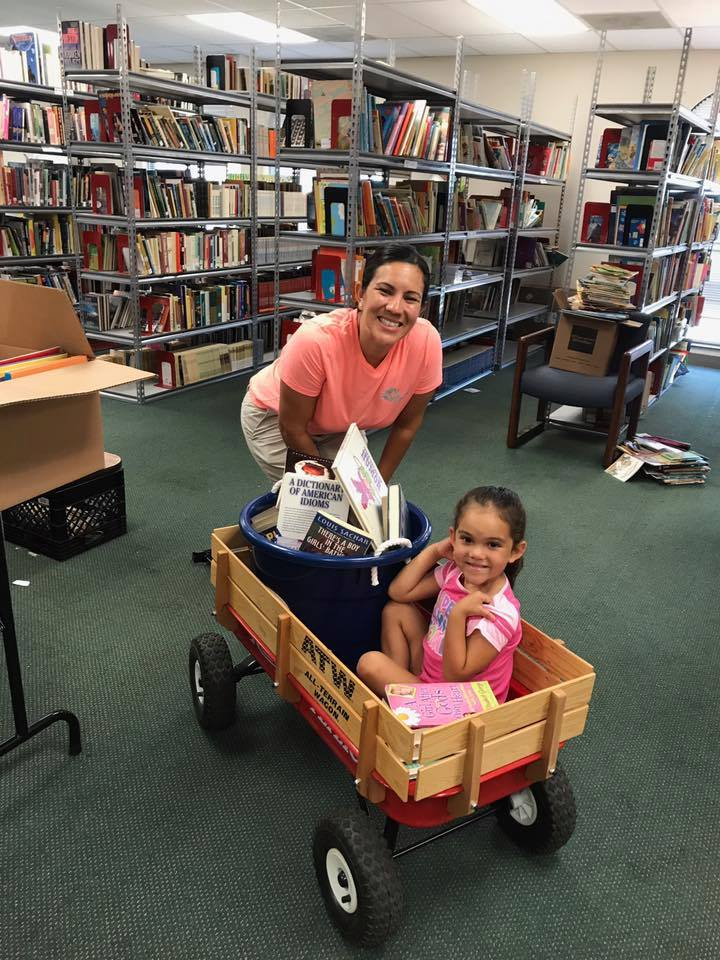 Books reach Bexar County children through the hands of classroom teachers.