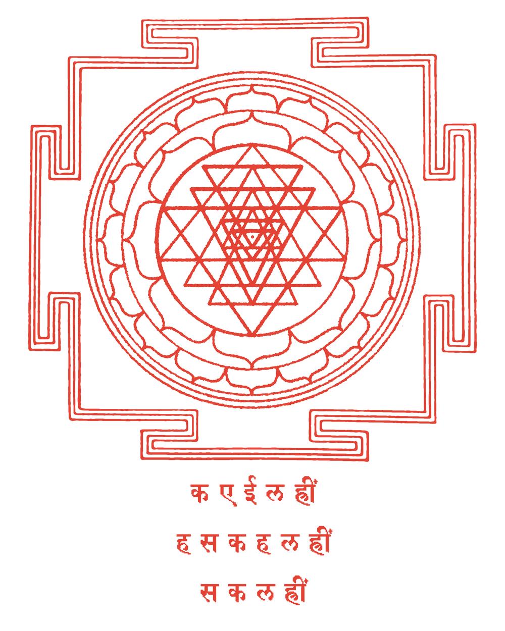 Sri Yantra: Union of Shiva and Shakti, Divine Transcendence and Divine Manifestation