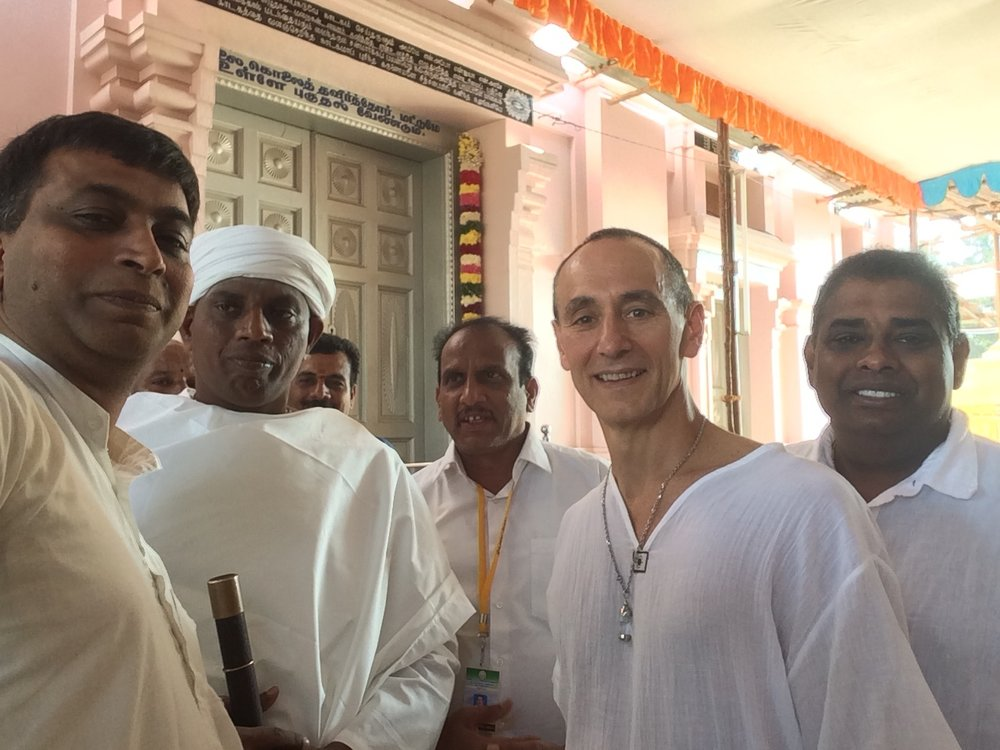 Siddha Yoga Initiate - I received diksha (initiation) into the Tamil Siddha Yoga lineage that goes back through Swami Ramalingam Vallalar to Thriumular via Swami Thirugnananantha in Coimbatore India in 2018.