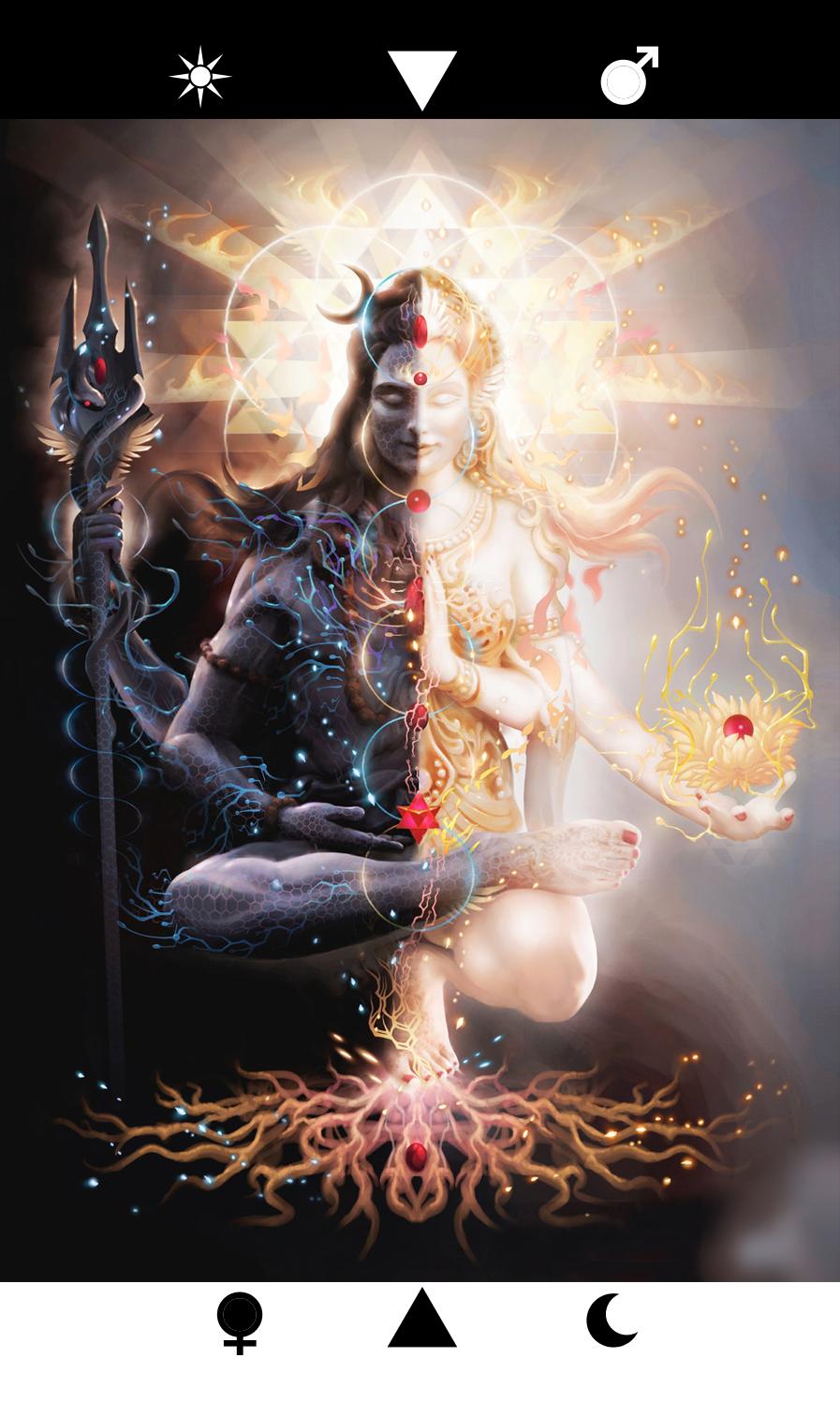The Union of Divine Male and Divine Female, Shiva-Shakti