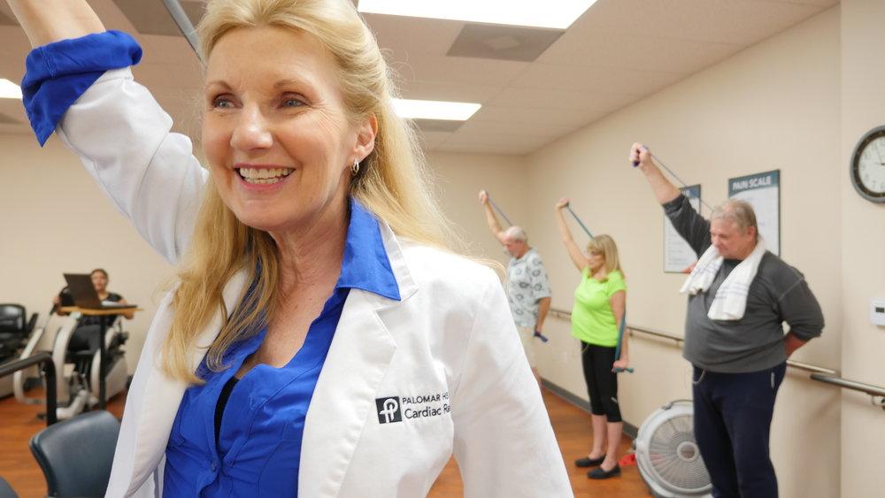 Cardiac Rehab at Palomar Health