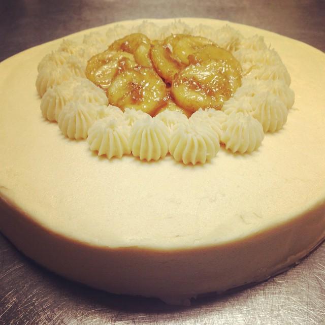 Bananas Foster Cake (v) (gf)