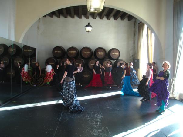 Bata class inside the bodega
