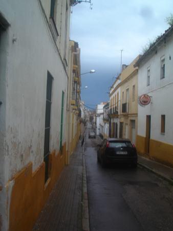 Calle Empedrada on the way to chiqui's studio