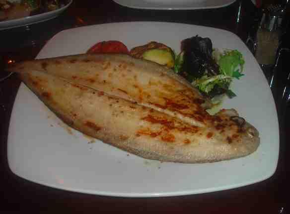 birthday dinner merluza